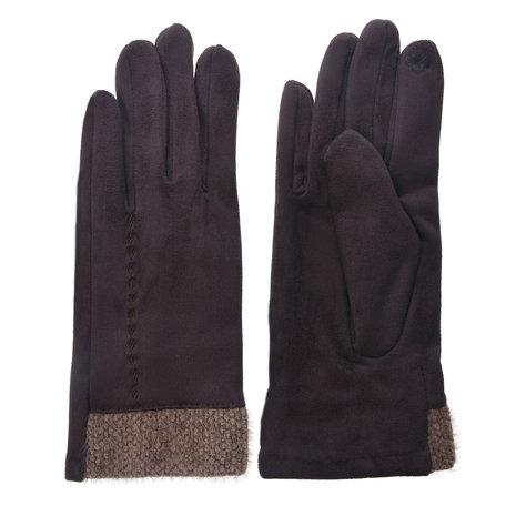 Handschoenen 8*24 cm Bruin | JZGL0035CH | Clayre & Eef