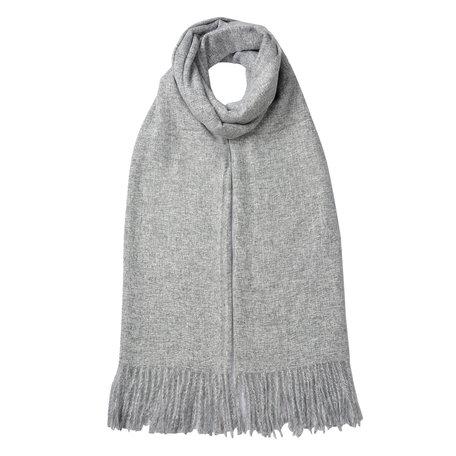Sjaal 68*180 cm Grijs | JZSC0487 | Clayre & Eef