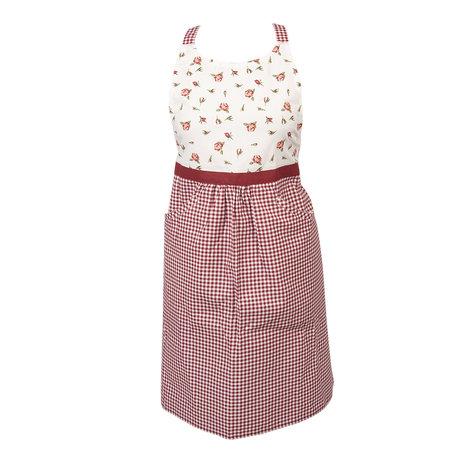 Keukenschort 70*85 cm Rood | ROR41A | Clayre & Eef