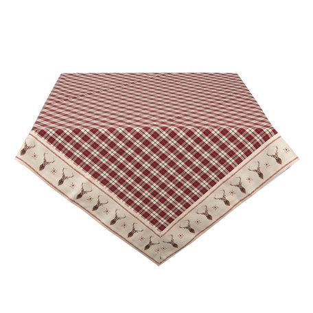 Tafelkleed 100*100 cm Multi | COL01 | Clayre & Eef