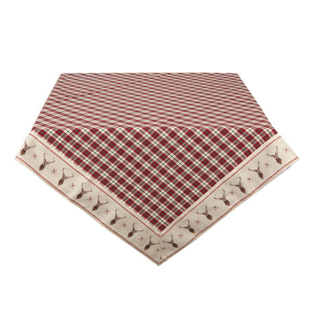 Tafelkleed 150*150 cm Meerkleurig | COL15 | Clayre & Eef