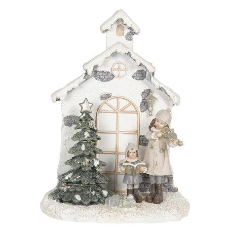 Decoratie Kerst LED 16*9*21 cm Multi | 6PR3068 | Clayre & Eef