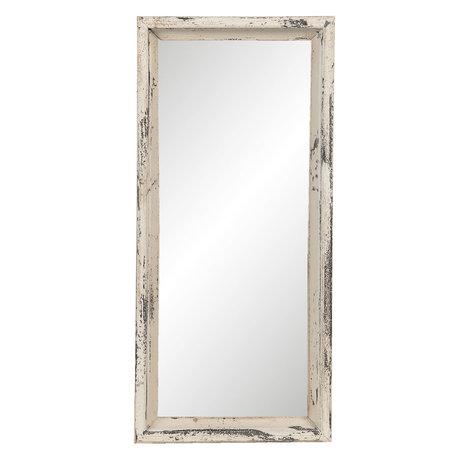 Spiegel 26*4*57 cm Beige   52S202   Clayre & Eef