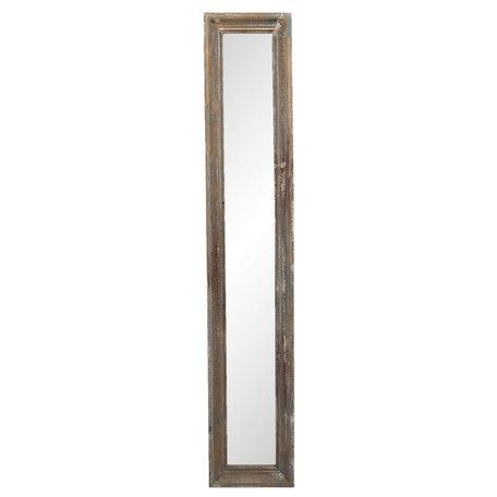 Spiegel 23*4*128 cm Bruin   52S207   Clayre & Eef