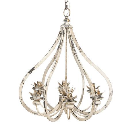 Hanglamp 63*55*72 cm Beige | 5LMP315 | Clayre & Eef