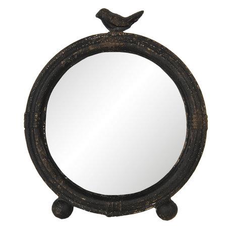 Spiegel 26*4*30 cm Bruin   62S186   Clayre & Eef