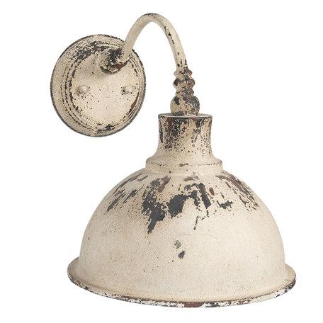 Wandlamp 43*28*31 cm Wit | 6LMP678 | Clayre & Eef