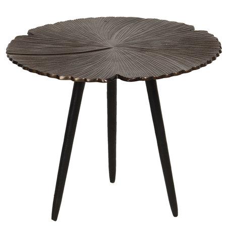 Bijzettafel ø 40*31 cm Bruin | 64627S | Clayre & Eef