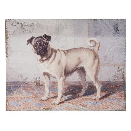 Schilderij 73*3*55 cm Multi | 50444 | Clayre & Eef