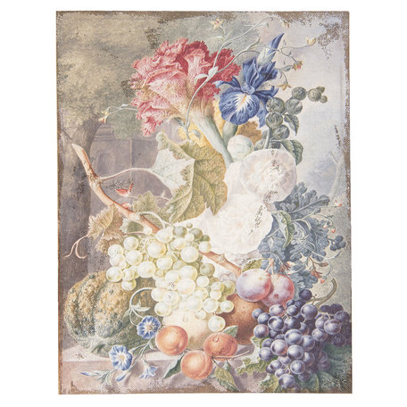 Schilderij 55*3*73 cm Multi | 50449 | Clayre & Eef