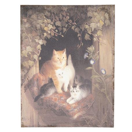 Schilderij 55*3*73 cm Multi | 50454 | Clayre & Eef