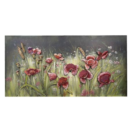 Wanddecoratie bloemen 120*6*60 cm Multi | 5WA0131 | Clayre & Eef