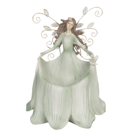 Decoratie engel 18*13*22 cm Multi | 6PR3117 | Clayre & Eef