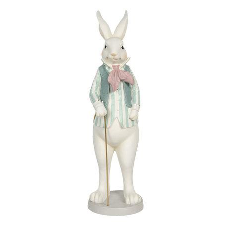 Decoratie konijn jongen 17*15*53 cm Multi | 6PR3143 | Clayre & Eef
