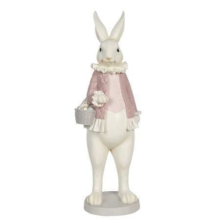 Decoratie konijn meisje 17*15*53 cm Multi | 6PR3144 | Clayre & Eef