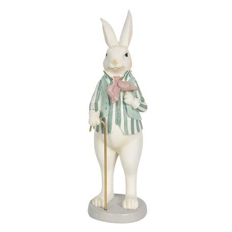 Decoratie konijn jongen 12*9*31 cm Multi | 6PR3145 | Clayre & Eef