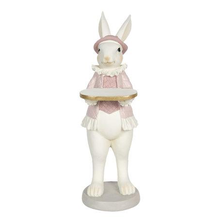 Decoratie konijn meisje 12*9*31 cm Multi | 6PR3146 | Clayre & Eef