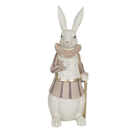 Decoratie konijn 11*10*27 cm Multi | 6PR3152 | Clayre & Eef