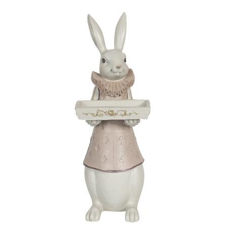 Decoratie konijn jongen 15*13*37 cm Multi | 6PR3153 | Clayre & Eef