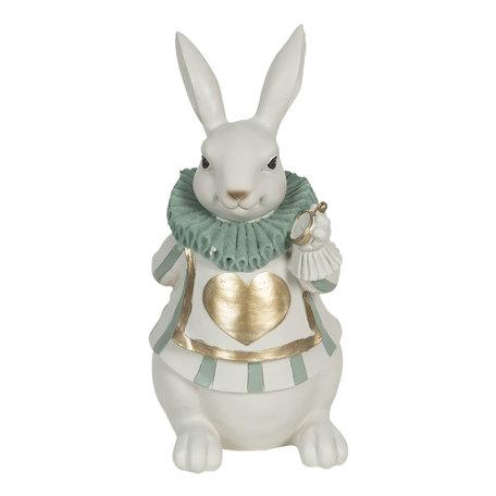 Decoratie konijn 17*14*33 cm Multi | 6PR3154 | Clayre & Eef