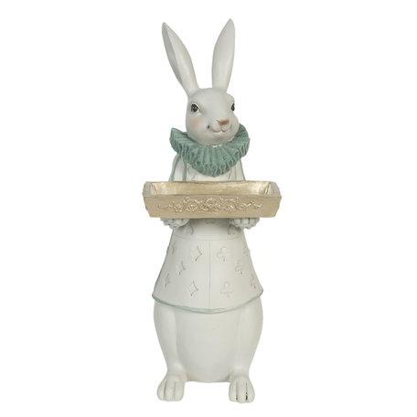 Decoratie konijn meisje 15*13*37 cm Multi | 6PR3155 | Clayre & Eef
