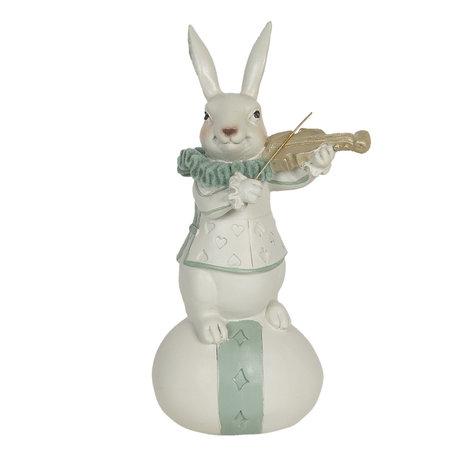 Decoratie konijn 8*7*17 cm Multi | 6PR3157 | Clayre & Eef