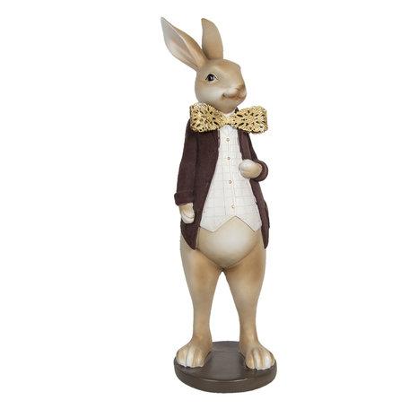 Decoratie konijn 18*17*54 cm Multi | 6PR3158 | Clayre & Eef