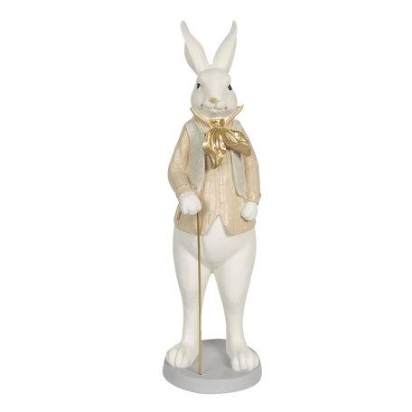 Decoratie konijn jongen 17*15*53 cm Multi | 6PR3168 | Clayre & Eef