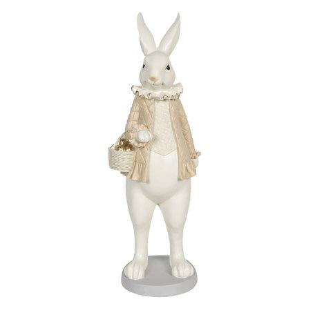 Decoratie konijn meisje 17*15*53 cm Multi | 6PR3169 | Clayre & Eef