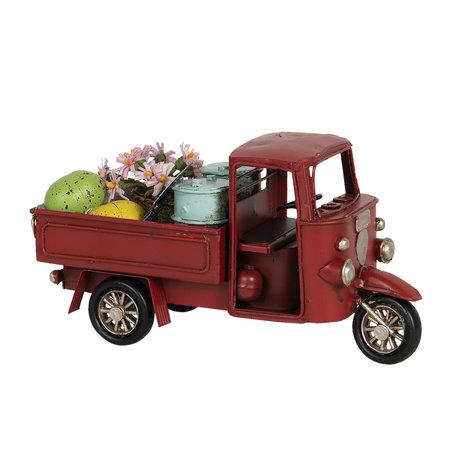 Model auto driewieler 16*7*8 cm Multi | 6Y4262 | Clayre & Eef