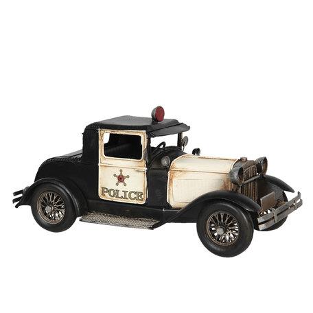 Model politieauto 32*14*15 cm Multi   6Y4263   Clayre & Eef