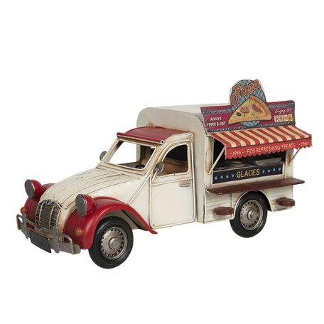Model food truck 32*15*19 cm Multi   6Y4264   Clayre & Eef