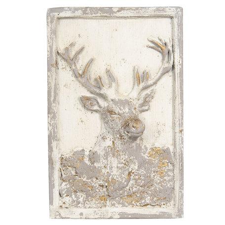 Wanddecoratie 45*8*70 cm Beige | 5PR0064 | Clayre & Eef