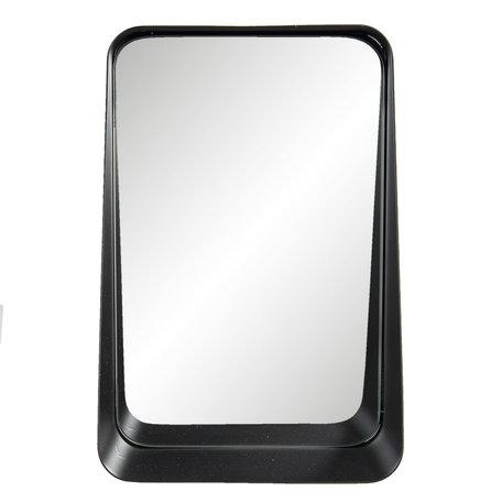 Spiegel 19*10*29 cm Zwart   62S217   Clayre & Eef
