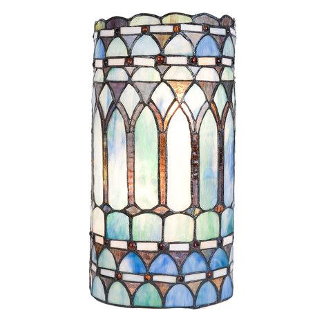 Wandlamp Tiffany 20*11*36 cm E14/max 2*40W Multi | 5LL-5508 | Clayre & Eef