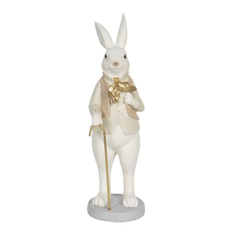 Decoratie konijn jongen 12*9*31 cm Multi | 6PR3170 | Clayre & Eef