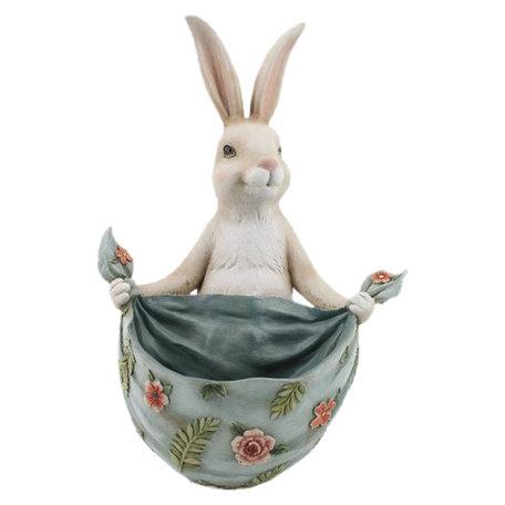 Decoratie konijn 25*25*36 cm Beige | 6PR2339 | Clayre & Eef