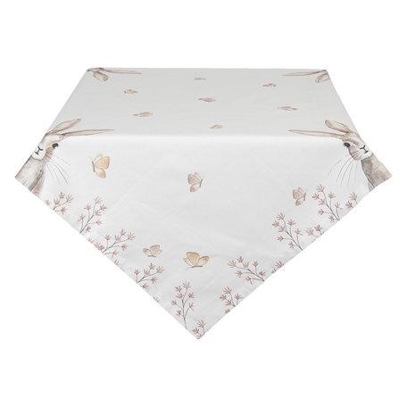 Tafelkleed 100*100 cm Beige | REB01 | Clayre & Eef