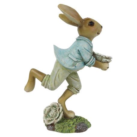 Decoratie konijn 11*6*15 cm Geel | 6PR3256 | Clayre & Eef