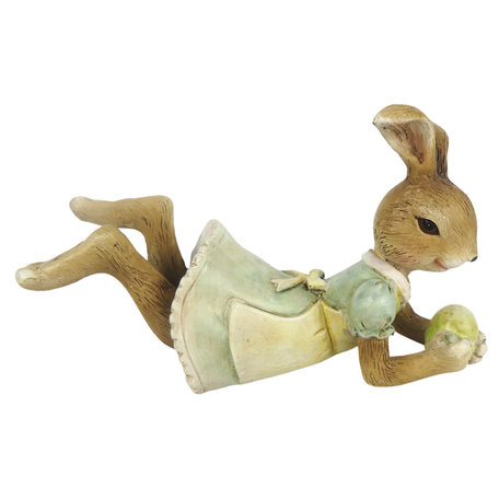 Decoratie konijn 14*5*8 cm Multi | 6PR3320 | Clayre & Eef
