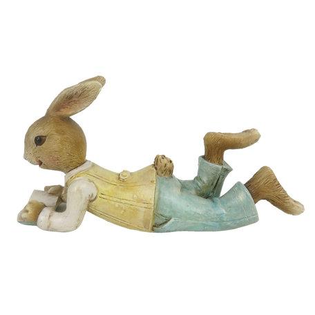 Decoratie konijn 14*5*8 cm Multi | 6PR3321 | Clayre & Eef