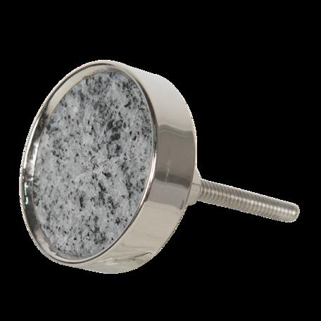 Deurknop ø 4 cm Grijs | 64699 | Clayre & Eef