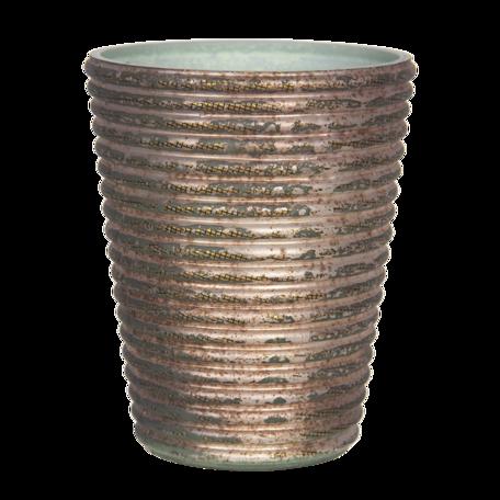 Waxinelichthouder ø 9*11 cm Koperkleurig | 6GL2974 | Clayre & Eef
