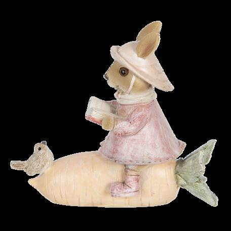 Decoratie konijn 13*5*11 cm Multi | 6PR3300 | Clayre & Eef