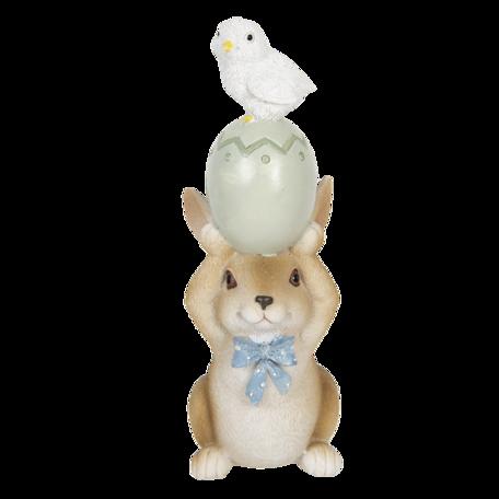 Decoratie konijn 8*6*17 cm Multi | 6PR3316 | Clayre & Eef