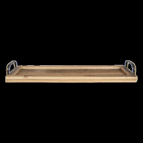 Dienblad 60*18*7 cm Bruin | 5H0472 | Clayre & Eef