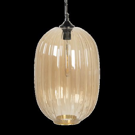 Hanglamp met lamp ø 32*55/160 cm E27/max 1*40W Beige   5LMP338CH   Clayre & Eef