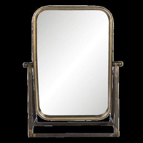 Spiegel 28*10*36 cm Bruin   62S215   Clayre & Eef