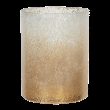 Waxinelichthouder ø 15*20 cm Transparant   6GL3003   Clayre & Eef