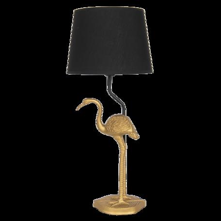 Tafellamp ø 25*58 cm E27/max 1*60W Goudkleurig | 6LMC0029 | Clayre & Eef